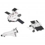 3 En 1 Solar Powered Juguete De Robot Luna Explorando Flota DIY Kits