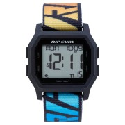 Rip Curl Atom Webbing Digital Watch Faded Blue Wash