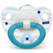 Бебешка силиконова залъгалка 6-18 месеца - Хепи Дейс, Nuk, асортимент, 1010620