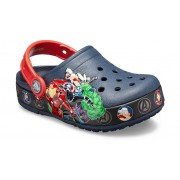 Crocs Fun Lab Marvel Band Lights Klompen Kinder Navy 29