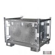 HUL-1256 500 literes horganyzott/ gumírozott konténer