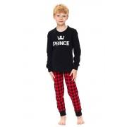 Pijama copii Prince neagră 122