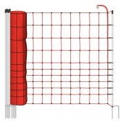 50m Electric Fence Netting, Euronet, 145cm, 2 Spikes