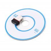 150Mbps USB Adaptador De Tarjeta De Red Inalámbrica WiFi Receptor Transmisor De Señal En Negro