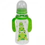 Бебешко шише за хранене 250 мл. Lorelli Baby Care, с 2 дръжки, налични 4 цвята, 0746920