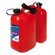 Dupli kanister za gorivo 5,5L + 3L - PVC