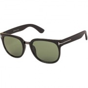 Arzonai Scout Square Black-Green UV Protection Sunglasses |Frame For Men & Women [MA-323-S2 ]