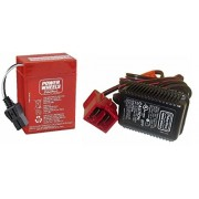 Power Wheels Power Wheels Super 6 Volt Red Battery and Charger Combo Pack