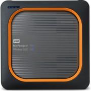 SSD Wireless 500GB WD My Passport USB 3.0 390MB/s, WDBAMJ5000AGY-EESN