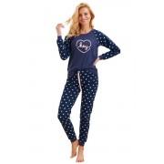 Pijama de damă Ami hey albastru închis L