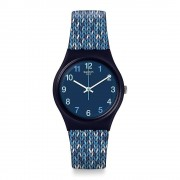 Swatch Orologio Gn259 Trico'blue Silicone