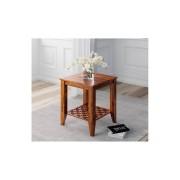 indickynabytek.cz - Odkládací stolek Mira 45x45x45 z indického masivu palisandr / sheesham Super natural
