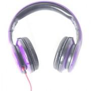 Gizmobitz Audio Ear Headphone SMS 006 With Mic- Purple