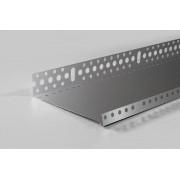 Listwa startowa cokołowa 123 mm - profil startowy cokołowy 12 cm L=2mb gr. 0,5mm pakiet 20 sztuk