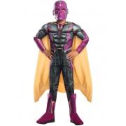 Disfraz de Vision Capitán América Civil War deluxe para niño