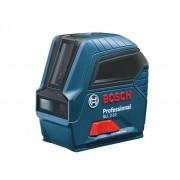 Nivelă laser cu linii Bosch Professional GLL 2-10, 10 m, ± 0,3 mm/m, 2 linii laser, 0601063L00