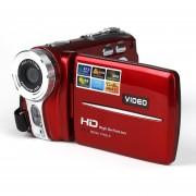 Cámara Digital Mini Cámara Digital DV Rojo De Video De 20MP