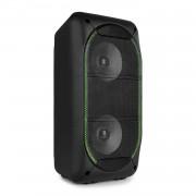 Fenton SBS60 парти високоговорител, Bluetooth, USB / SD / AUX, LED, дистанционно управление, черен (SKY_178.355)