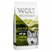 2x12kg Wolf of Wilderness Soft Green Fields cordeiro