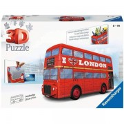 Ravensburger 3D Puzzle London Bus - 216 Pieces