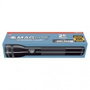 Maglite Heavy-Duty Incandescent 2-Cell D Flashlight in Display Box, Black