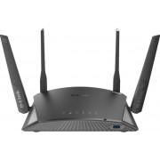 Router Wireless tip Mesh D-Link DIR-2660, Gigabit, Dual-band, 2600 Mbps, 4 Antene externe (Negru)