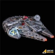 LIGHT MY BRICKS Kit for 75257 LEGO STAR WARS Millennium Falcon