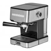 Espressor cu pompa Studio Casa Espresso Mio SC 2001, 850 W, 15 bar, 1.2 l, Inox/Negru