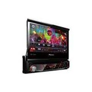 DVD Player Automotivo Pioneer AVH-3880DVD com Tela 7'' USB Retrátil Touch Screen