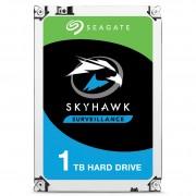 Seagate Segate HDD SkyHawk 1TB 64MB 5.9K 3.5' SATA 3-yr limited warranty
