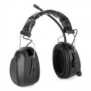 Jackhammer 2.0 Baustellen-Kopfhörer Lärmschutzkopfhörer UKW SNR 28dB AUX-In ABS/Stahl schwarz Schwarz