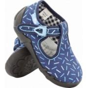 Papuci pentru casa sau gradinita interior/exterior RenBut GRANAT PATYCZKI