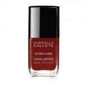 Gabriella Salvete Longlasting Enamel smalto per le unghie 11 ml tonalità 23 Red Wine donna