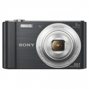 Sony DSC-W810 Aparat Foto Compact 20.1MP Filmare HD Negru