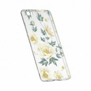 Husa Silicon Transparent Slim Floral 126 Huawei Y6-II