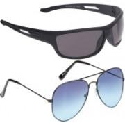 Vast Aviator, Sports Sunglasses(Blue, Grey)