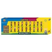 Set Figurine Soccerstarz Barcelona Treble Winners Celebration 18 Player Team Pack C