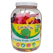 Candy LIZAKI OKRĄGŁE MIX BEZGLUTENOWE BIO 84 x 10 g (SŁOIK) - CANDY TREE