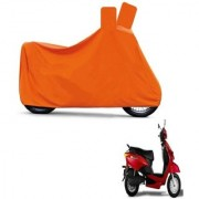 AutoAge Full Orange Two Wheeler Cover For Yo Xplor