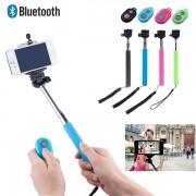 V&V Teleskopická selfie tyč s bluetooth ovládáním - V&V
