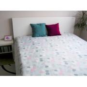 Ágytakaró 200x240 - Türkiz