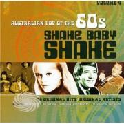 Video Delta Shake Baby Shake: Australian Pop Of The 60s - Vol. 4-Shake Baby Shake: Australian Pop Of The 60s - CD