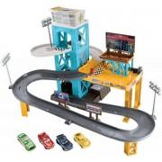 Cars Bilar Piston Cup garage - Disney Blixten McQueen bilar DXY86