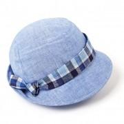 FASHIONDESIGN cappello estivo per donna in tessuto lino e cottone molto leggero