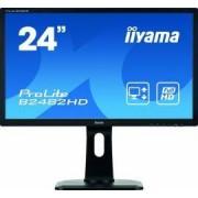 Monitor LED 24 IIyama Prolite B2482HD-B1 5ms Negru Full HD