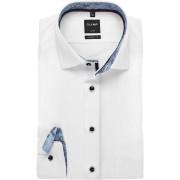OLYMP Luxor Modern Fit Hemd weiss, Faux-uni