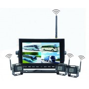 "WiFi couvací set - 3x WiFi kamera s 7"" LED monitorem"