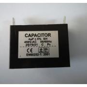 Condensator pornire ventilator 4 uF