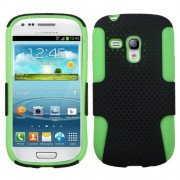 Funda Protector Samsung Galaxy S3 Mini Verde Mixto