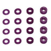 Schumacher U2858 Purple 3mm hole shim set (16)